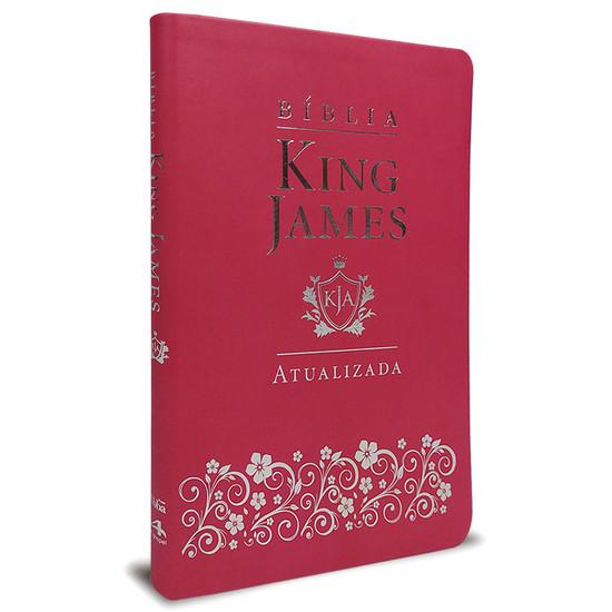 Bíblia King James Atualizada Slim Pink