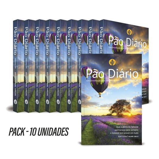 Pack com 10 unidades - Pão Diário 2022 - Vol. 25 Paisagem