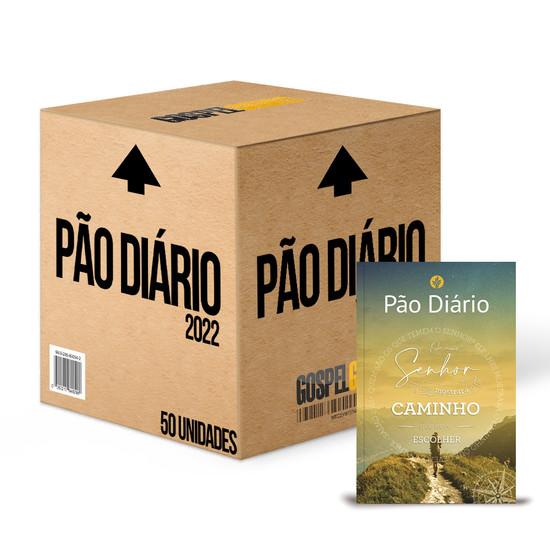 Caixa 50 unidades - Pão Diário 2022 -Vol. 25 Capa Caminho