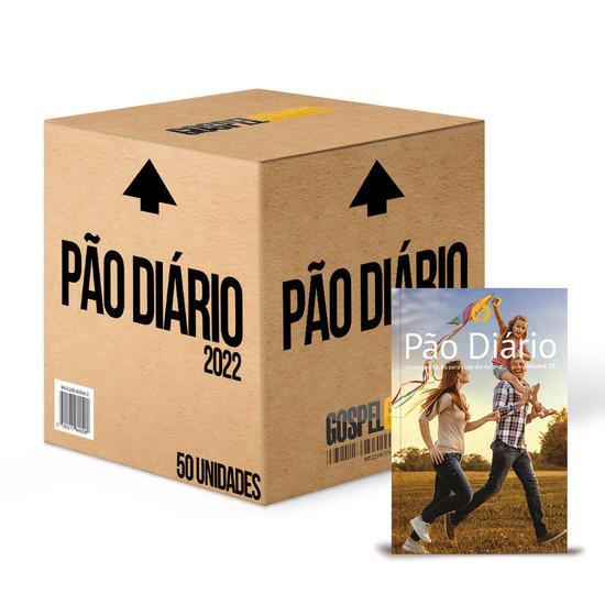 Caixa 50 unidades - Pão Diário 2022 -Vol. 25 Capa Família