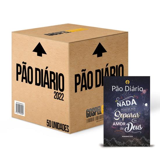 Caixa 50 unidades - Pão Diário 2022 -Vol. 25 Capa Nada poderá