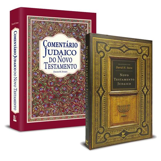 Combo Comentário Judaico + Novo Testamento Judaico (2 livros)