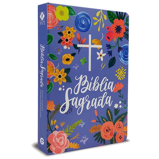 Bíblia NVT Especial Semi-luxo Céu Azul