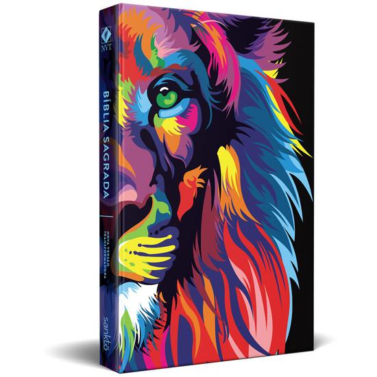 Bíblia NVT Pop Lion Colors Original