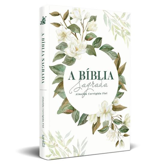 Bíblia ACF Slim Magnólia Branca