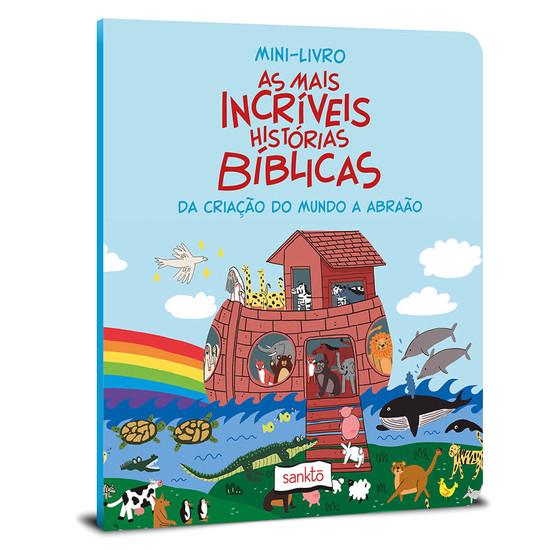 Mini-Livro As mais Incríveis histórias Bíblicas