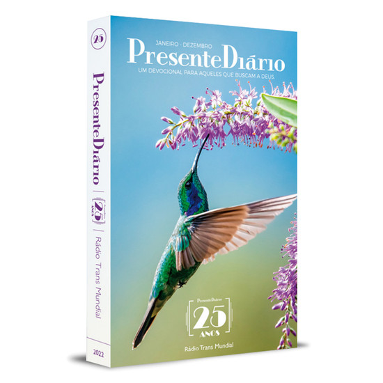 Presente Diário 2022 Tradicional (Capa Beija-Flor)