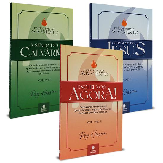 Kit 3 livros - Passos para o avivamento - Roy Hession