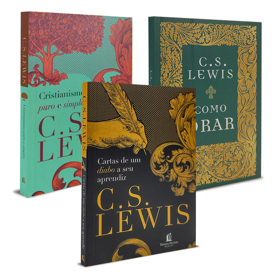 Combo 3 Livros C.S. Lewis - Versão Pocket