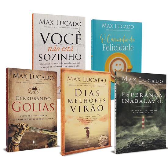Combo 5 Livros - Max Lucado