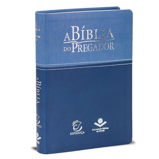 A Bíblia do Pregador - Capa Azul Média