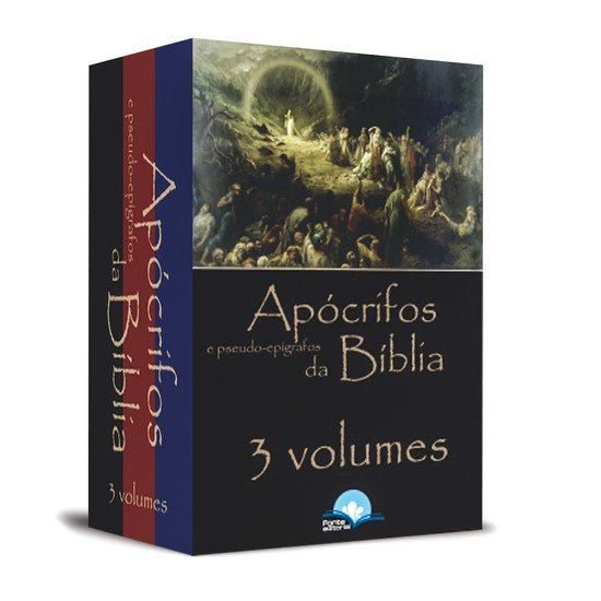 Coleção Apócrifos e Pseudo-Epígrafos da Bíblia - 3 Volumes