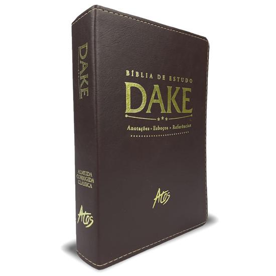 Bíblia de Estudo Dake (Marrom)