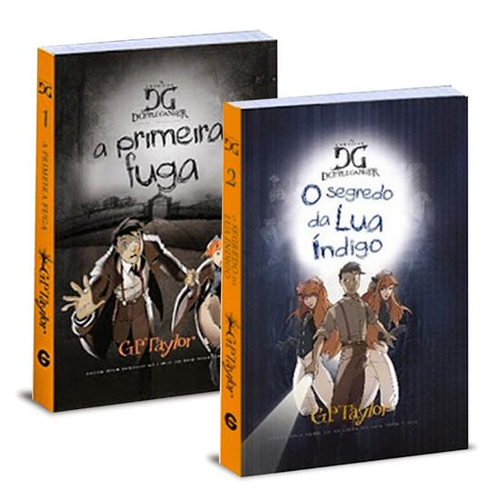 Combo 2 livros - As Crônicas de Dopple Ganger