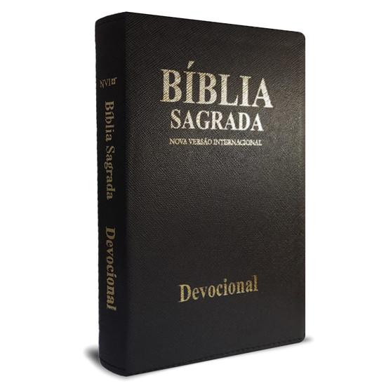 Bíblia Devocional Presente Diário (Luxo Preta)