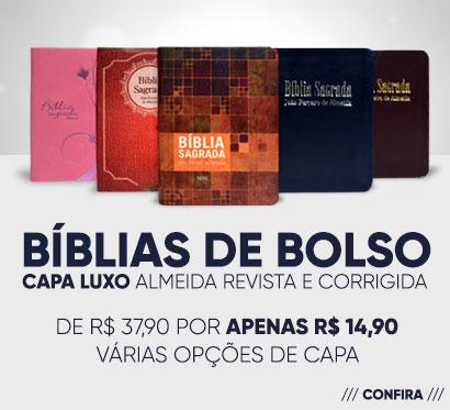 Bíblias de Bolso - Almeida Revista e Corrigida