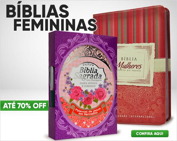 Bíblia da Mulher e outras bíblias femininas