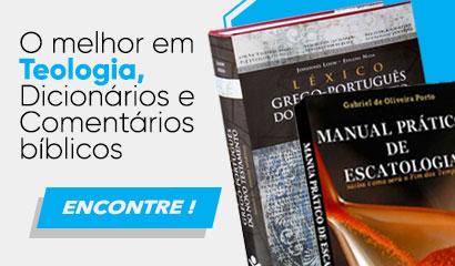 Livros teológicos, dicionários e comentários bíblicos