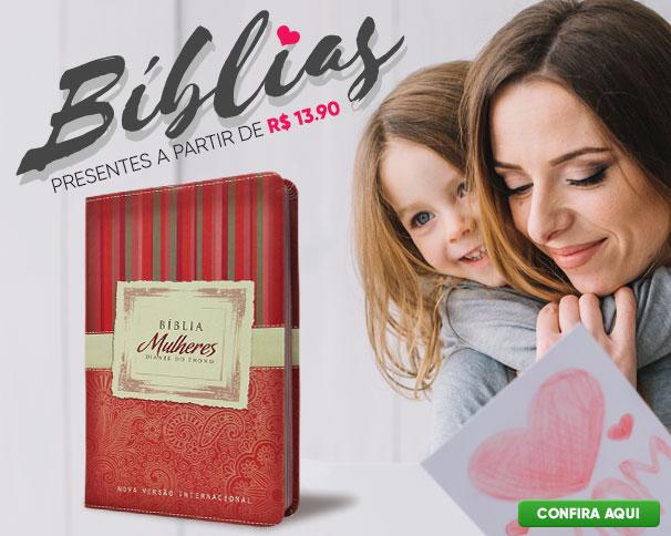 Bíblias em Oferta - Dias das Mães