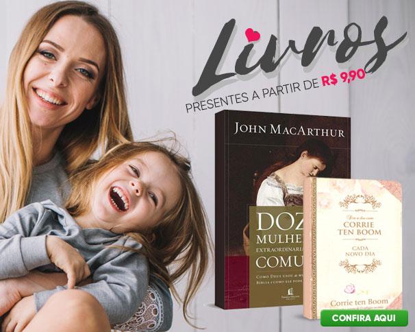 Livros em Oferta - Dias das Mães