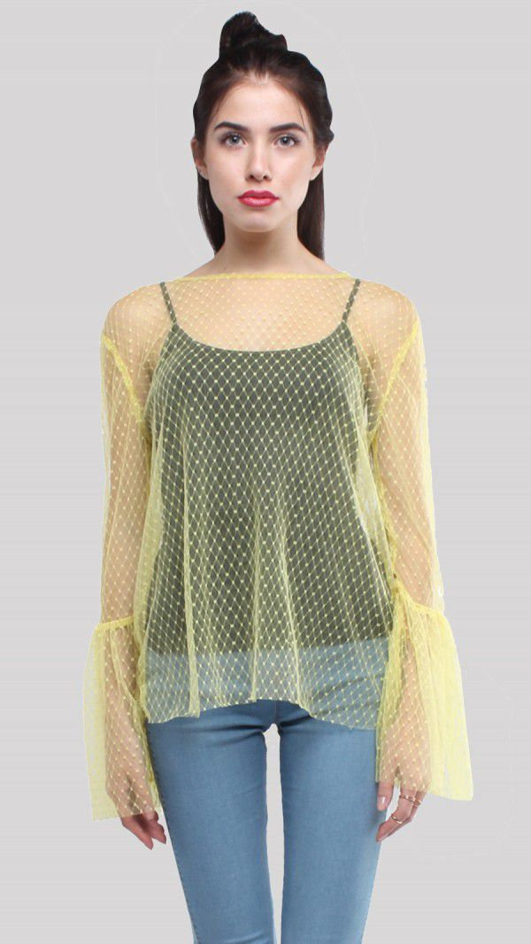 SbuyS  - Mesh Blouse