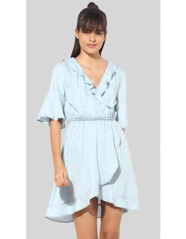 SbuyS - Ruffle Wrap Dress