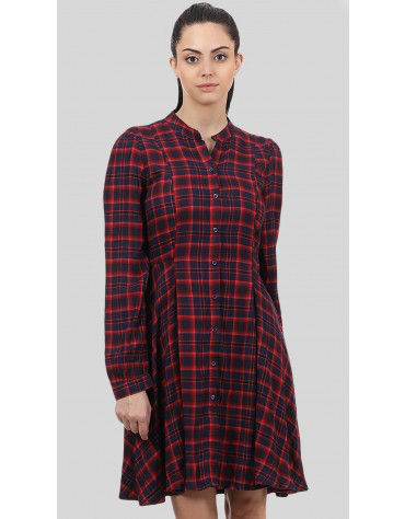 SbuyS - Plaid Skater Dress