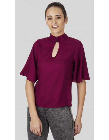 SbuyS  - High Neck Blouse