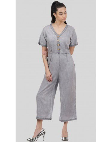 SbuyS - Washed Denim Jumpsuit