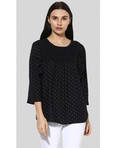SbuyS - Lace Ruffled Blouse