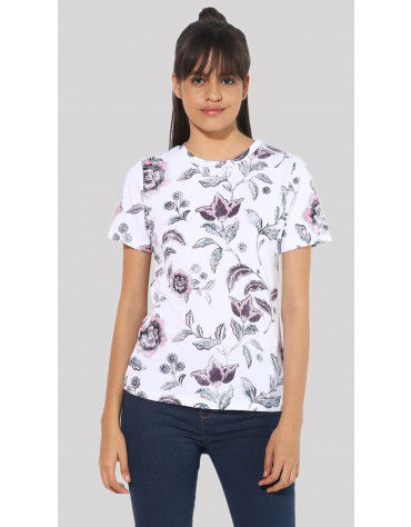 Sbuys - Printed T-Shirt