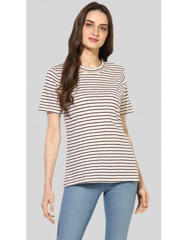 SbuyS  - Pearl Embellished T-Shirt