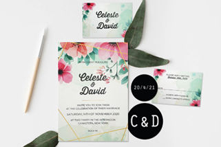 Sheen Invitations