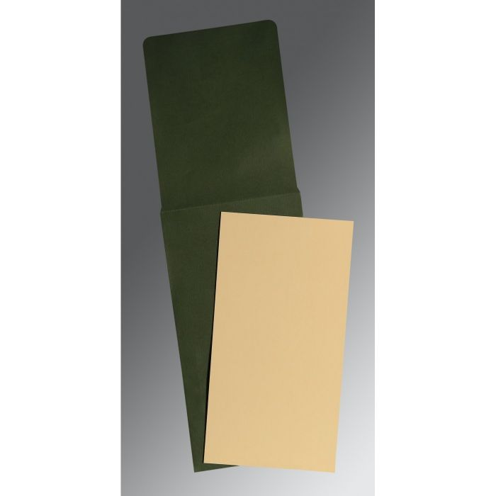 IVORY MATTE PERSONAL CARDS : CP-0032 - IndianWeddingCards
