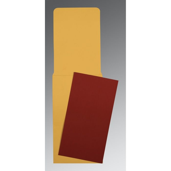 MAROON MATTE PERSONAL CARDS : CP-0041 - IndianWeddingCards