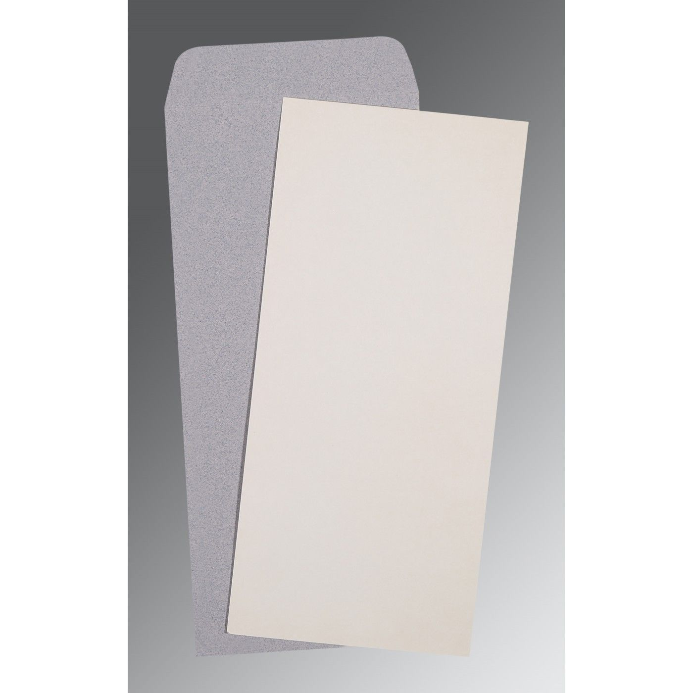 OFF-WHITE MATTE PERSONAL INVITATIONS : CP-0036 - IndianWeddingCards