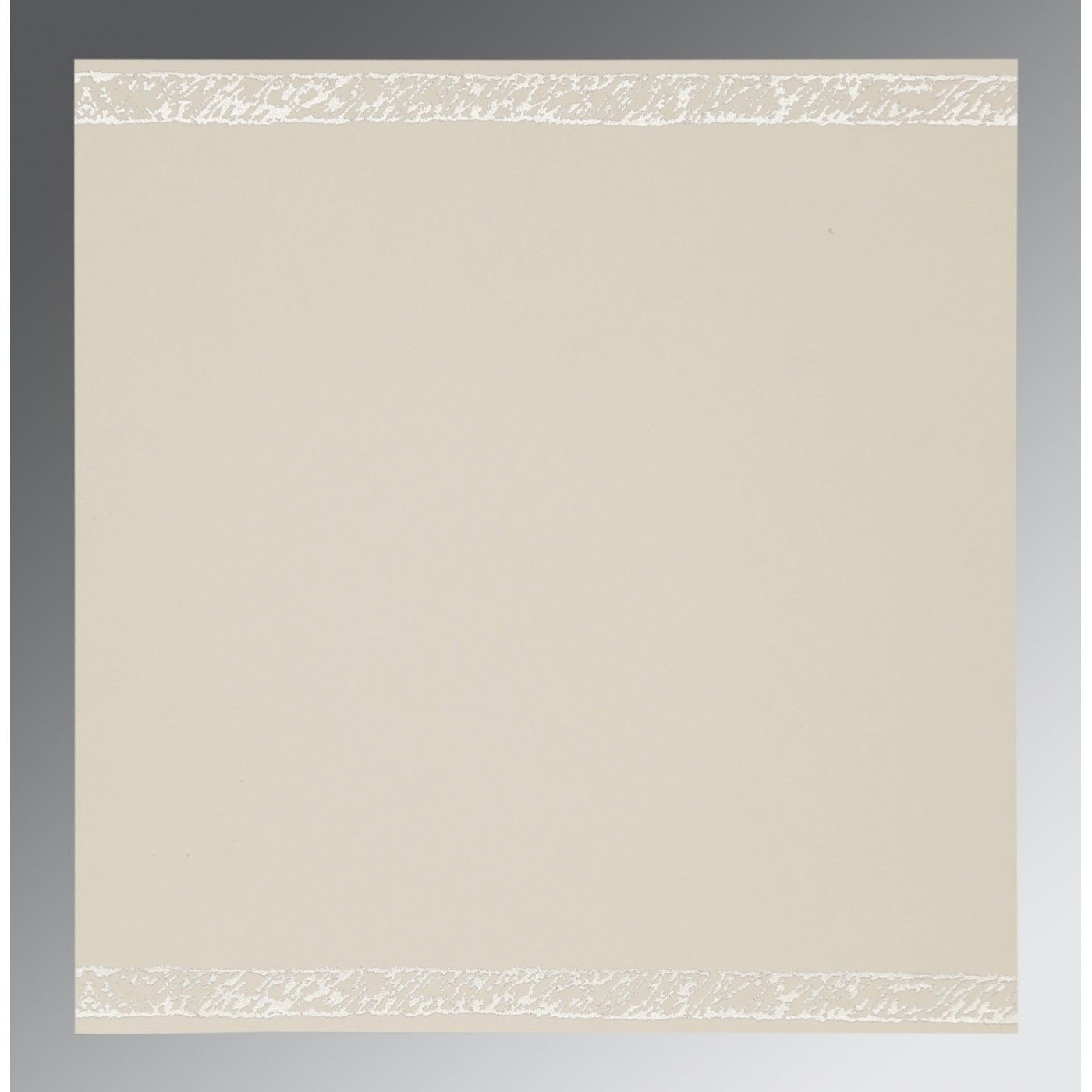 PEARL SHIMMERY FLORAL THEMED - EMBOSSED WEDDING CARD : CI-8209N - IndianWeddingCards