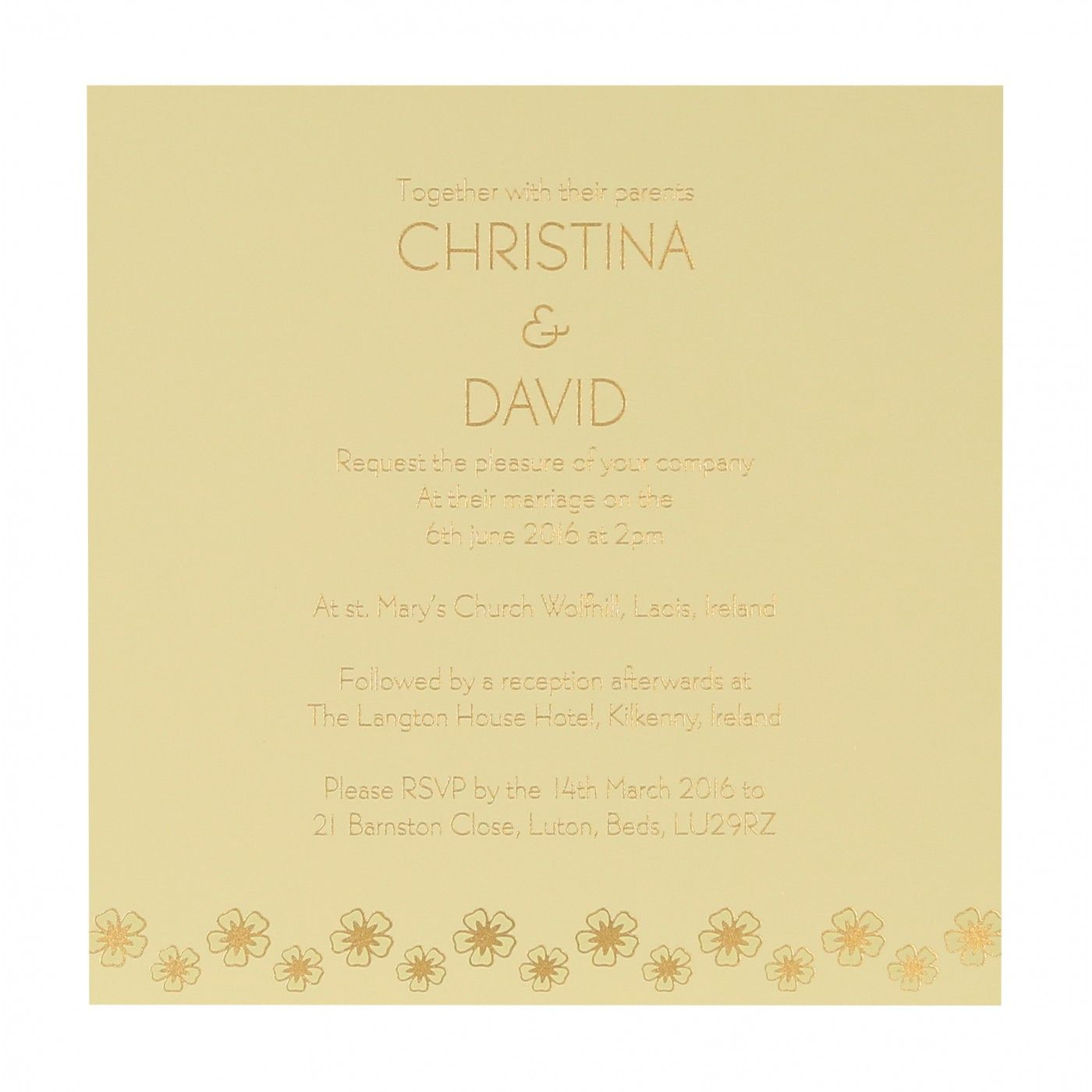 COPPER SHIMMERY BUTTERFLY THEMED - SCREEN PRINTED WEDDING CARD : CW-8258F - IndianWeddingCards