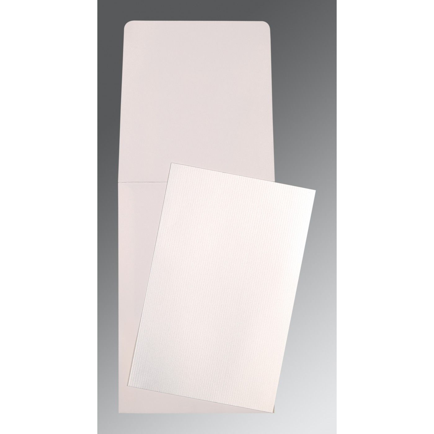 SILVER SHIMMERY PERSONAL CARDS : CP-0008 - IndianWeddingCards