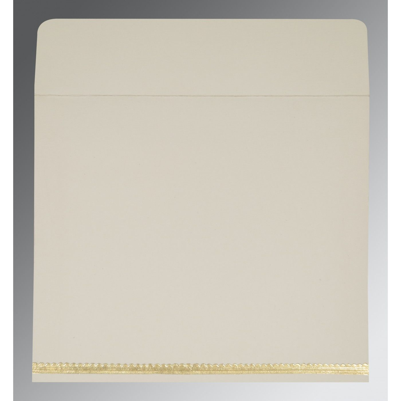YELLOW GOLD SHIMMERY FOIL STAMPED WEDDING INVITATION : CI-1402 - IndianWeddingCards