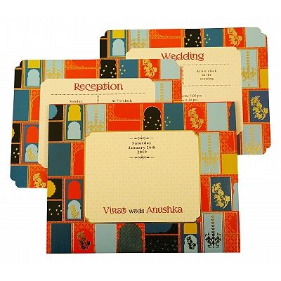 Wedding Invitation : CC-1880 - IndianWeddingCards
