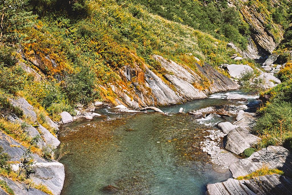 Ravi river valley