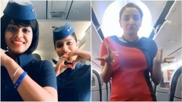 Air Hostesses are busy in TikTok Videos