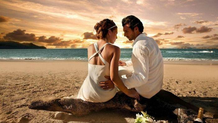 Pristine beache Malaysia Honeymoon