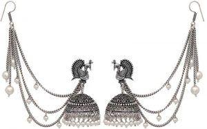 Women Alloy Jhumki Earring