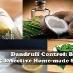 Dandruff Control