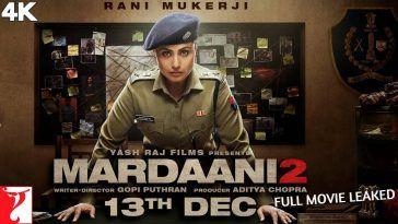 Mardaani 2 full movie