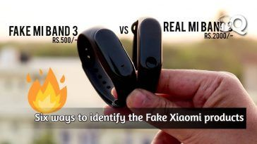 Six ways to identify the fake Xiaomi products