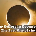 Solar Eclipse in December 2019