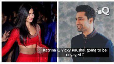Katrina & Vicky Kaushal engaged ?